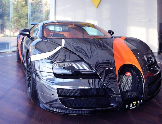 Bugatti Veyron Australia front angle