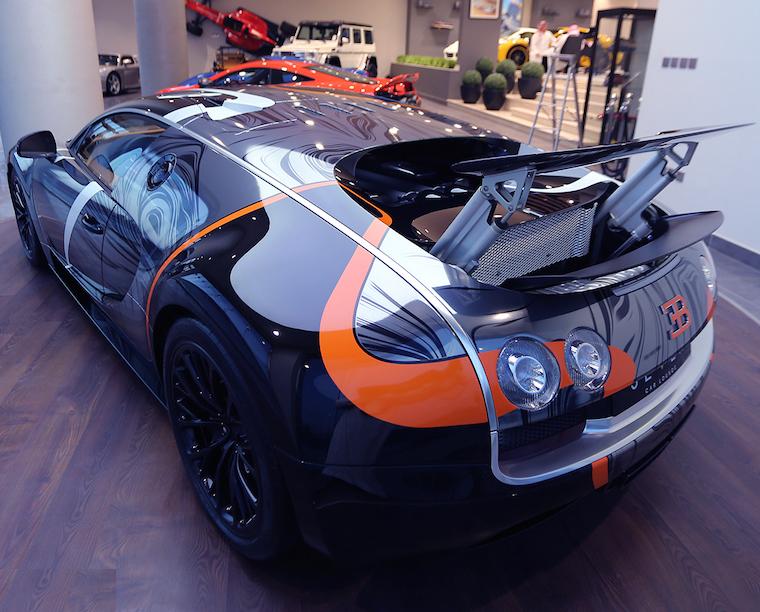 Bugatti Veyron Australia Rear