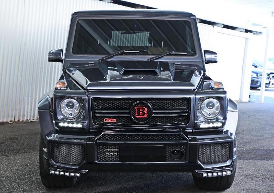 Brabus G800 with Red Badge Finished in Black