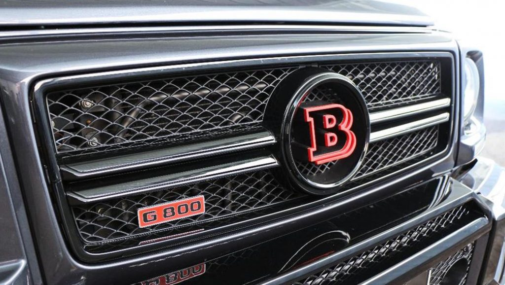 Brabus G800 Front Grille with Red Badge