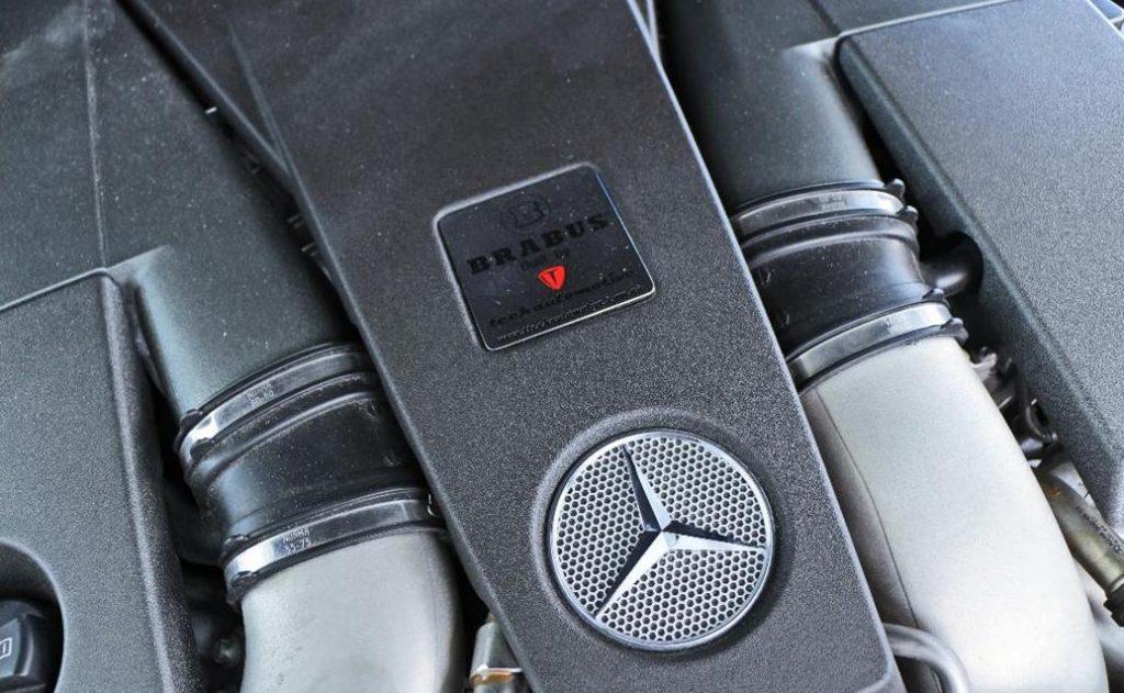 Brabus G800 Mercedes Benz Engine