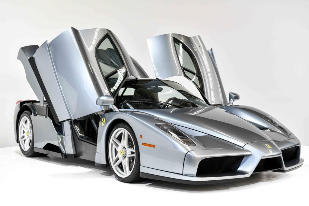 Ferrari Enzo with Gullwing Doors Open