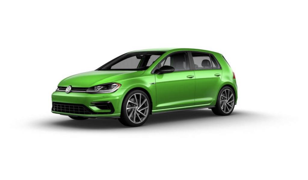 2019 Volkswagen Golf R in Viper Green