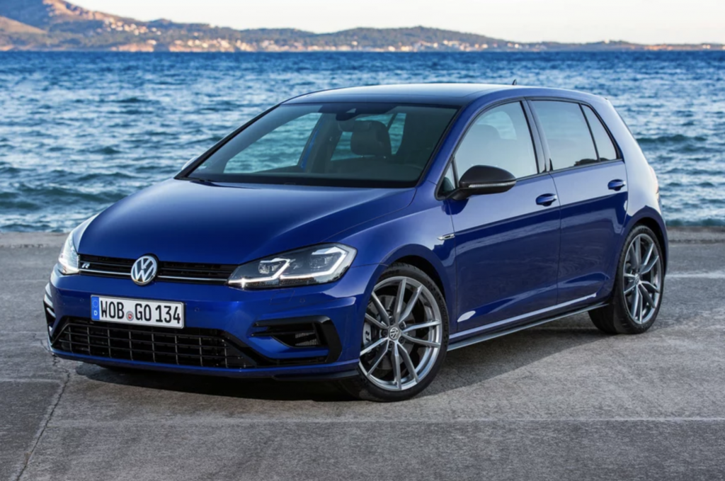 Volkswagen Golf R Special Edition Front end
