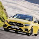 AMG A35 front angle driving
