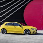 AMG A35 side angle parked 2