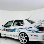 Fast and the Furious Jetta rear quarter