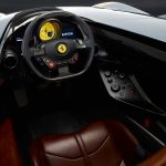 Ferrari SP single seat interior