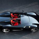 Ferrari SP2 top view