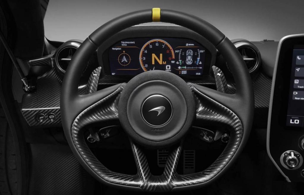 McLaren Senna Steering Wheel