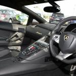 Lamborghini Aventador Miura Homage steering wheel