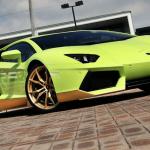 Lamborghini Aventador Miura Homage front profile