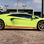 Lamborghini Aventador Miura Homage side profile