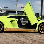 Lamborghini Aventador Miura Homage scissor doors