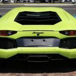 Lamborghini Aventador Miura Homage rear angle