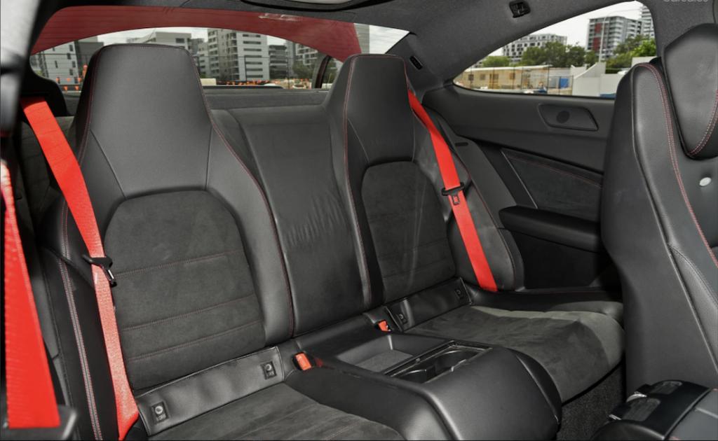 Mercedes C63 Black Edition Interior
