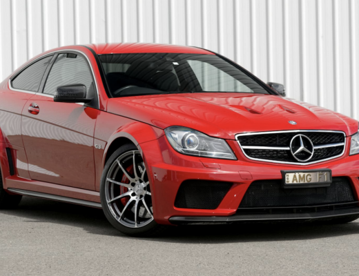 Mercedes C63 Black Edition cover photo