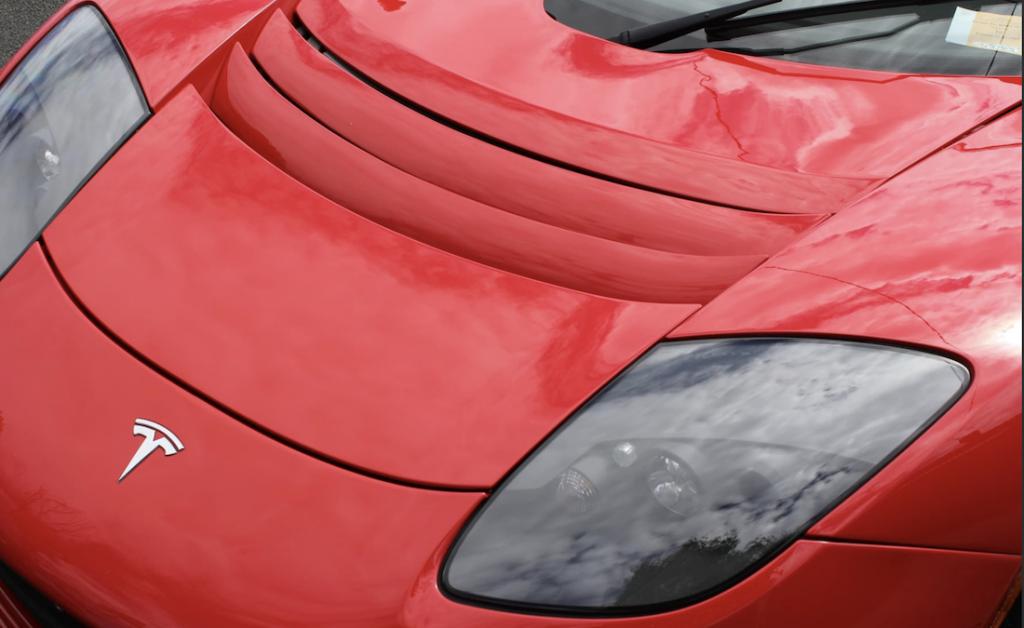 Tesla Roadster Sport Australia for Sale in Red headlight